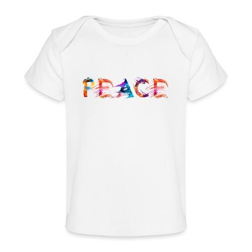 Peace - T-shirt bio Bébé