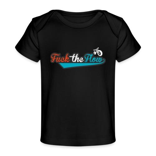 FUCK THE FLOW - Maglietta ecologica per neonato