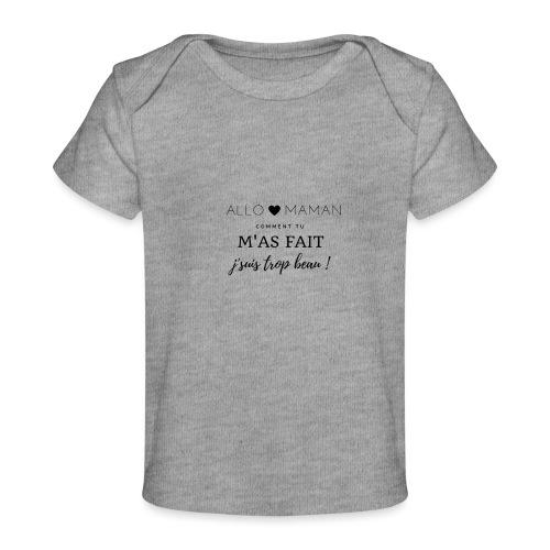 AlloMaman - T-shirt bio Bébé