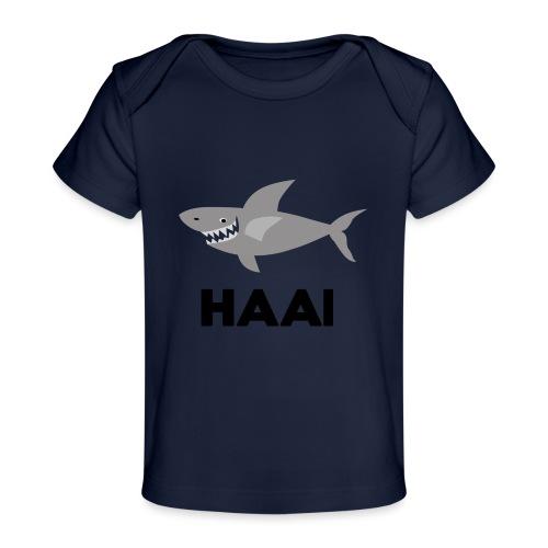 haai hallo hoi - Baby bio-T-shirt