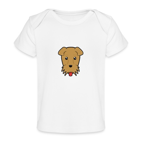 Shari the Airedale Terrier - Organic Baby T-Shirt