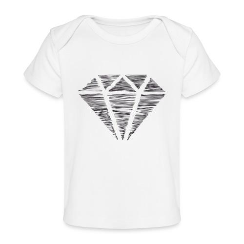Diamante - Camiseta orgánica para bebé