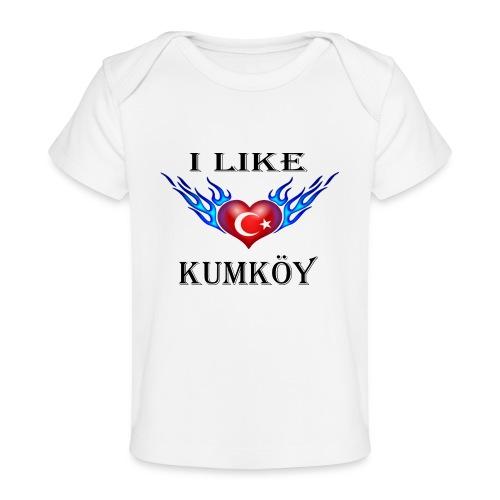 I Like Kumköy - Baby Bio-T-Shirt