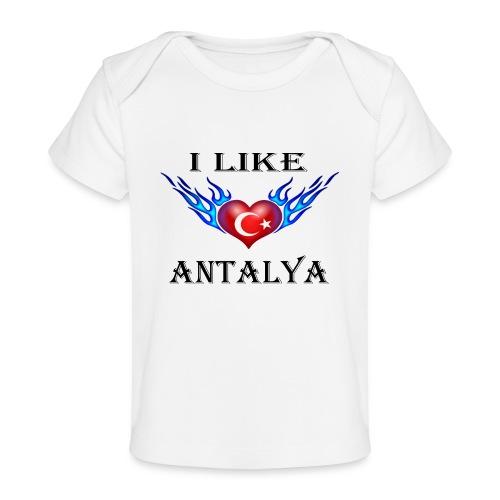 I Like Antalya - Baby Bio-T-Shirt