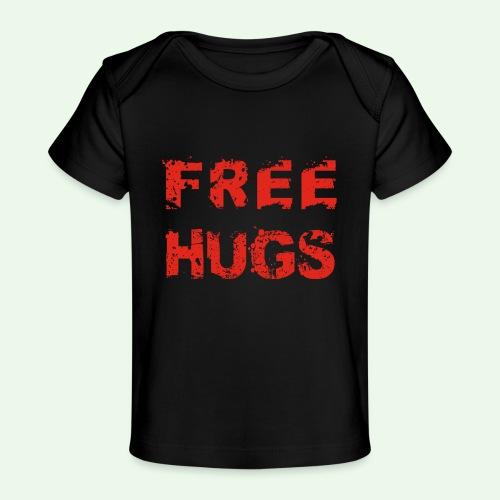 Free Hugs // Flirten // T-Shirt - Baby Bio-T-Shirt