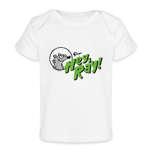 Hey Ray Logo green - Baby Bio-T-Shirt