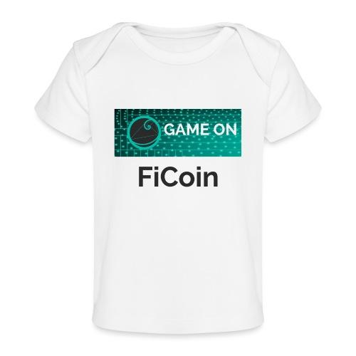 GameOn Dark Tekst - Baby bio-T-shirt