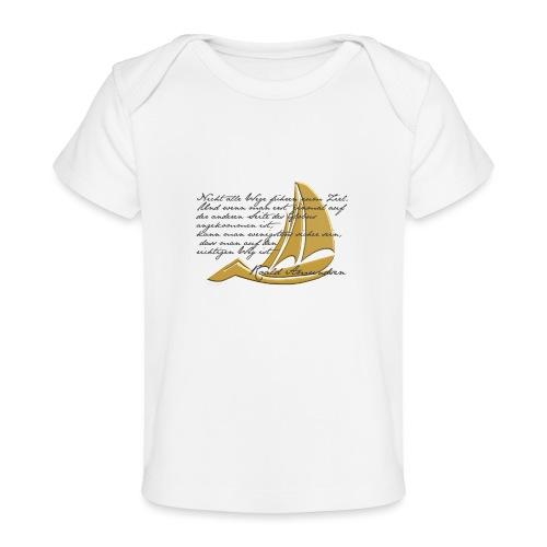 weltumsegeln - Baby Bio-T-Shirt