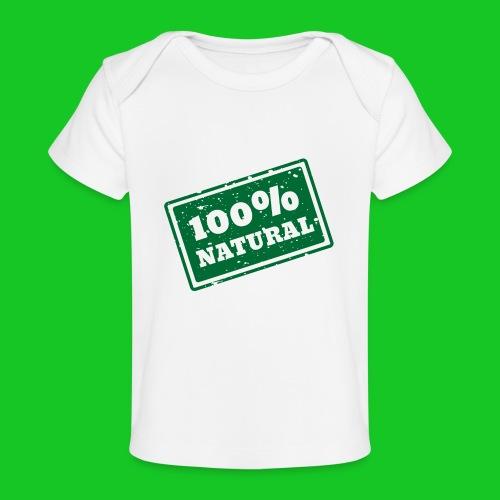 100% natural PNG - Baby bio-T-shirt