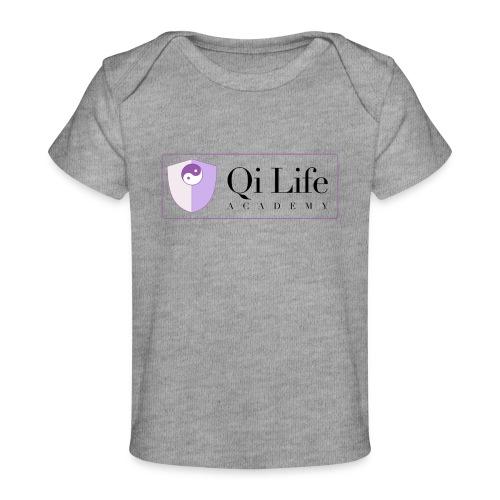 Qi Life Academy Promo Gear - Organic Baby T-Shirt