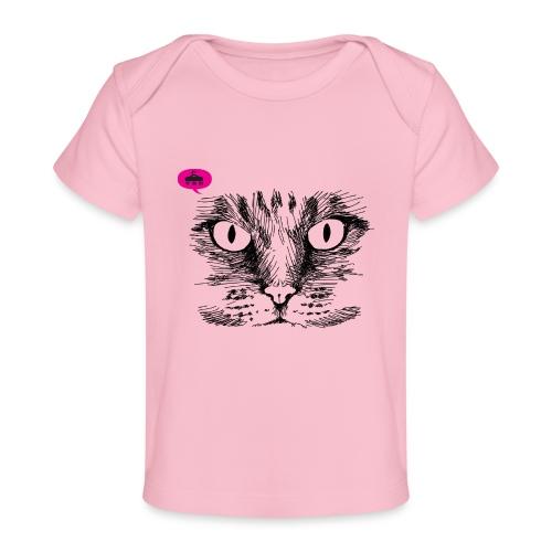 kattegezicht vdh - Baby bio-T-shirt