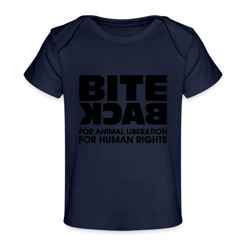 Bite Back logo - Baby bio-T-shirt