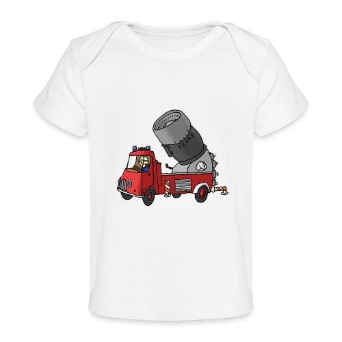Wasserwerfer - Baby Bio-T-Shirt