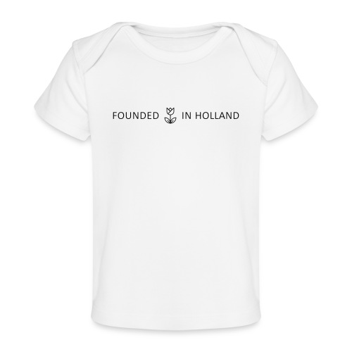 logofoundedinholland - Organic Baby T-Shirt