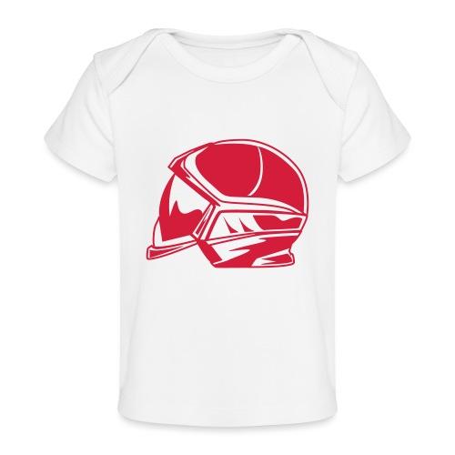 new casque - T-shirt bio Bébé