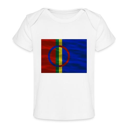 Sapmi flag - Økologisk baby-T-skjorte