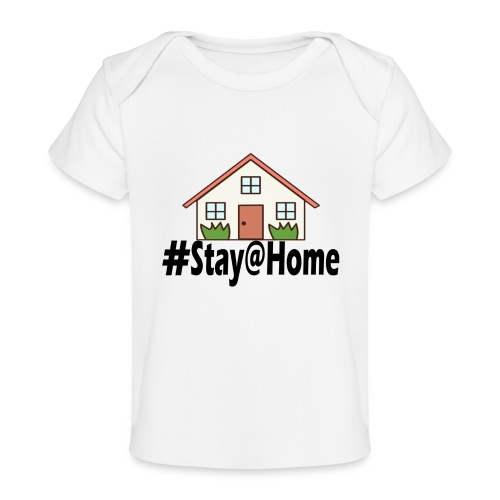 StayHome - Baby bio-T-shirt