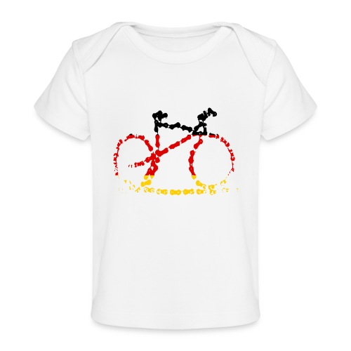 Germany bike chain scale - Organic Baby T-Shirt