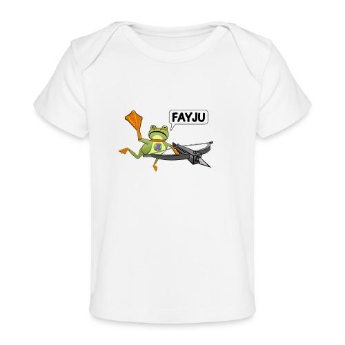 Amazing Frog Crossbow - Organic Baby T-Shirt