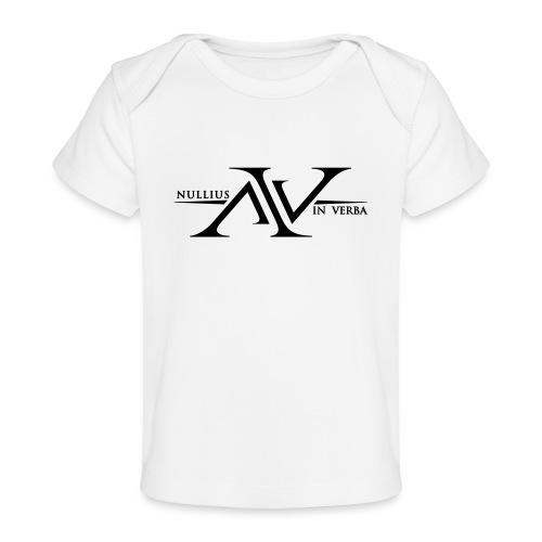 Nullius In Verba Logo - Organic Baby T-Shirt