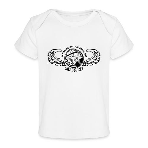 HAF tshirt back2015 - Organic Baby T-Shirt