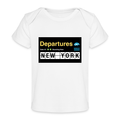 Departures Defnobarre 1 png - Maglietta ecologica per neonato