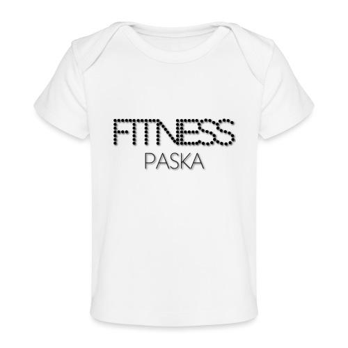 FITNESS PASKA - Vauvojen luomu-t-paita