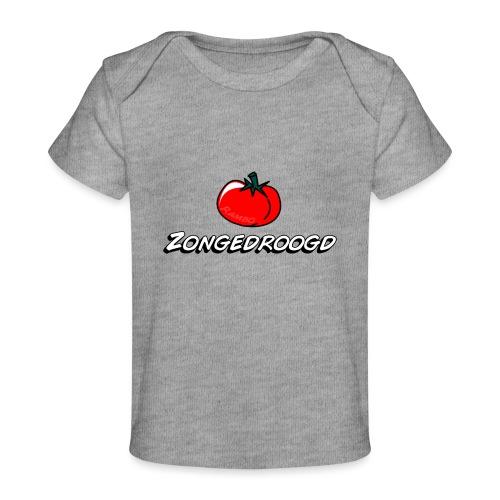 ZONGEDROOGD - Baby bio-T-shirt