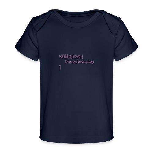 Mom love me - Camiseta orgánica para bebé