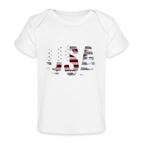 USA - T-shirt bio Bébé