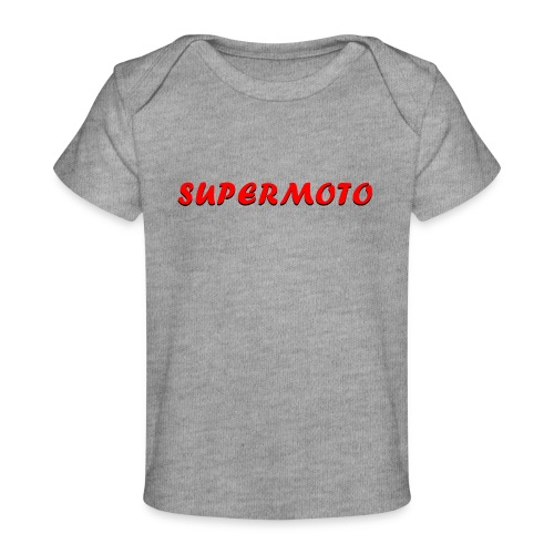 SupermotoLuvan - Ekologisk T-shirt baby