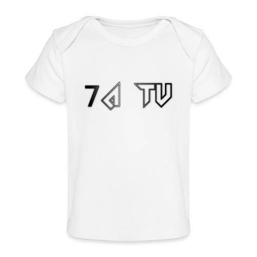 7A TV - Organic Baby T-Shirt