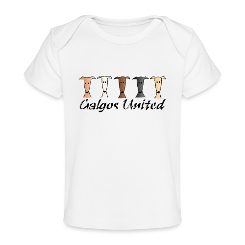 Galgos united - Baby Bio-T-Shirt