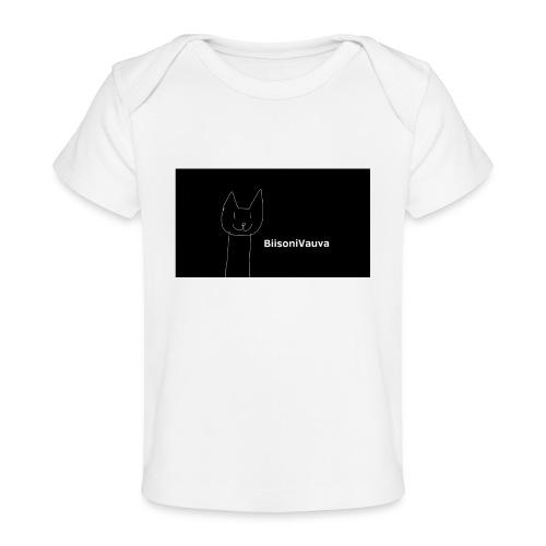 biisonivauva - Vauvojen luomu-t-paita