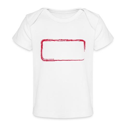 Rahmen_01 - Baby Bio-T-Shirt
