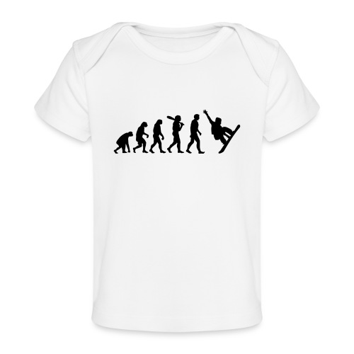Evolution Snowboard - Baby Bio-T-Shirt