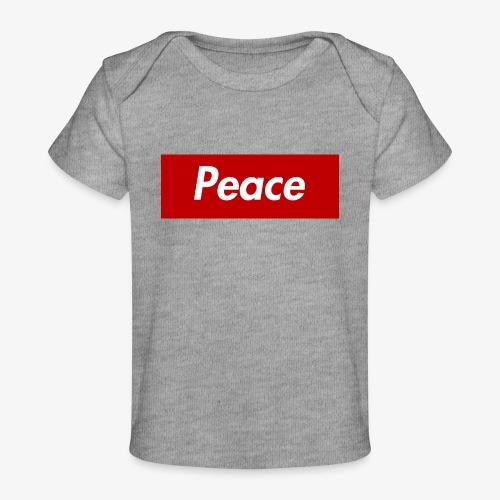Peace - Baby Bio-T-Shirt