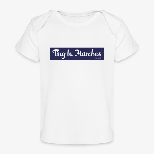 Ting lu Marches - Maglietta ecologica per neonato