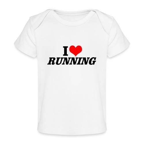 I love running - Baby Bio-T-Shirt