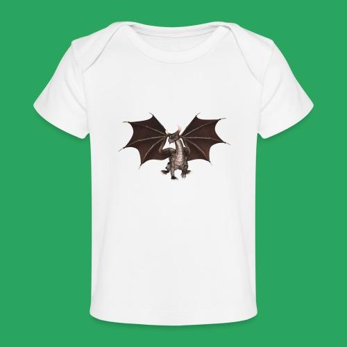 dragon logo color - Maglietta ecologica per neonato