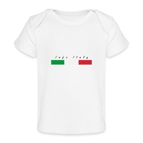 Info Italy Design - Maglietta ecologica per neonato