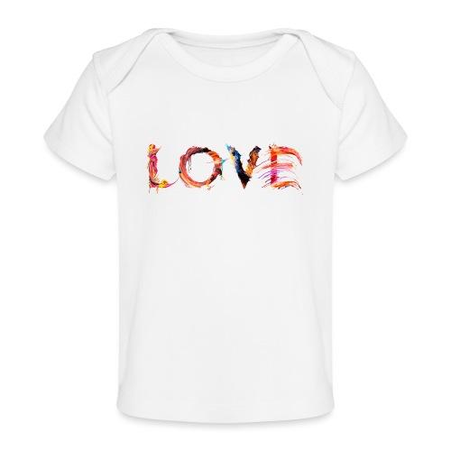 Love - T-shirt bio Bébé