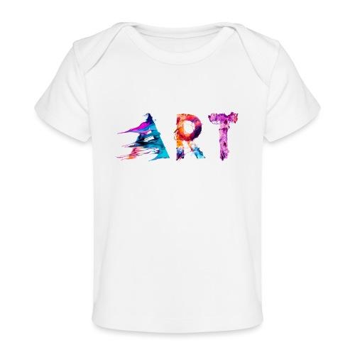 Art - T-shirt bio Bébé