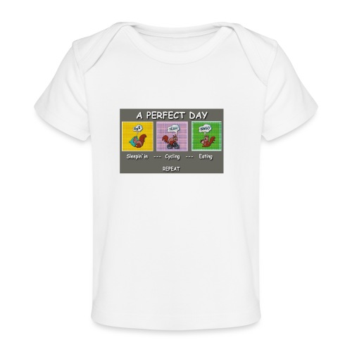 A Perfect Day Halmi - Comic - Baby Bio-T-Shirt