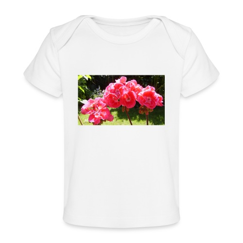 floral - Organic Baby T-Shirt