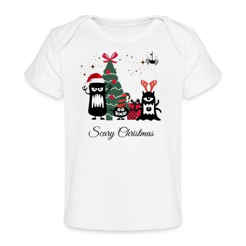 Noël effrayant - Scary Christmas - T-shirt bio Bébé
