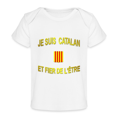 Dessous de verre à l'emblème du PAYS CATALAN - T-shirt bio Bébé
