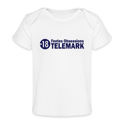 telemark fentes obsessions18 - T-shirt bio Bébé