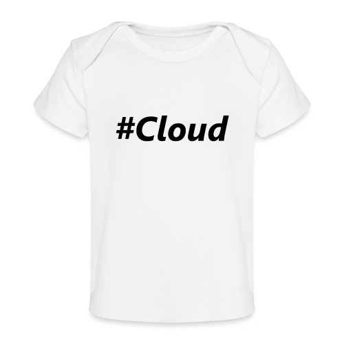 #Cloud black - Baby Bio-T-Shirt