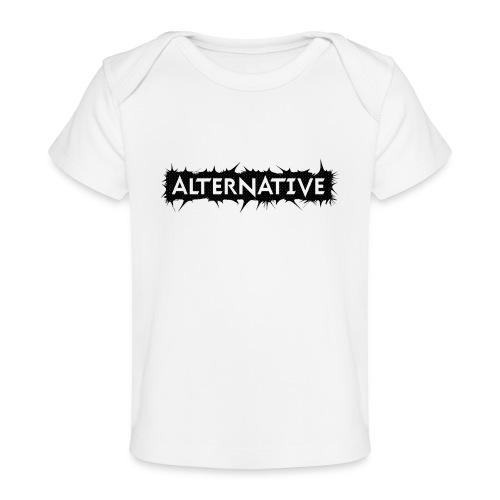 Spike T-shirt White - Ekologiczna koszulka dla niemowląt